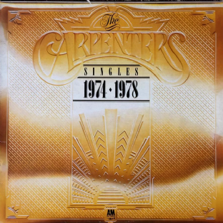 Carpenters - The Singles 1974-1978 (LP) (VG/VG)